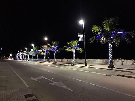 Iluminación paseo Puerto Deportivo